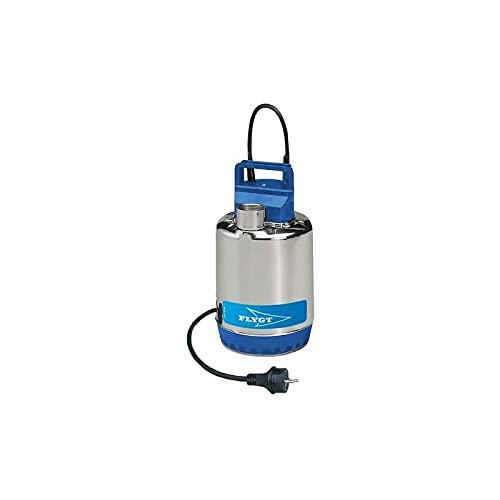 Flygt - Bomba de elevación de acero inoxidable SXM2SG 0,25 KW vacío hasta 8,1 m3/h monofásico 220 V
