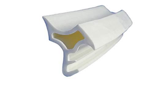 5m-Stahlzargendichtung WZ 1101 Farbe Weiss