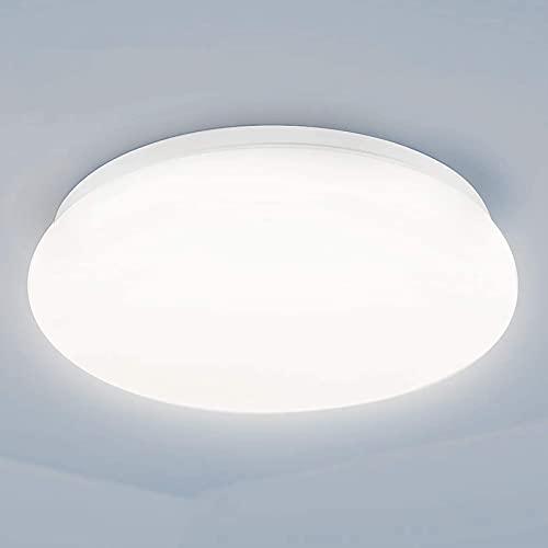 baklon Lámpara de techo LED 24W, Lámpara de techo Blanco frío Iluminación de techo impermeable IP54 Lámpara de techo Aplicable al dormitorio Baño Sala de estar Cocina Interior