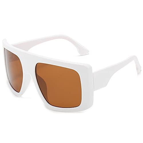LUOXUEFEI Gafas De Sol Gafas De Sol Para Mujer Gafas De Sol Cuadradas De Gran Tamaño Mujer Verano