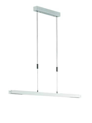 Fischer&Honsel Orell Pendelleuchte, Metall, 30 W, aluminiumfarben