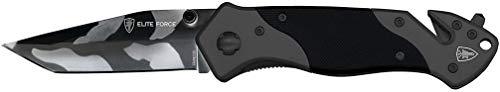 Elite Force Uni Rescue Messer EF 102 Klappmesser EF102 Rostfreier Stahl, mehrfarbig, M