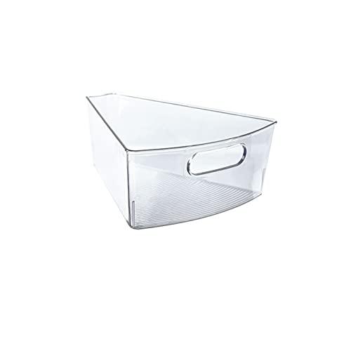 Memea Caja de almacenamiento para frigorífico, tipo cajón, transparente, para el hogar, cocina, congelación de alimentos