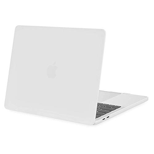 MOSISO MacBook Pro 13 inch Case 2020 2019 2018 2017 2016 Release A2338 M1 A2289 A2251 A2159 A1989 A1706 A1708, Plastic Hard Shell Case Cover Compatible with MacBook Pro 13 inch, White