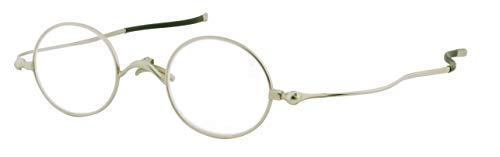 SHIORI 老眼鏡 薄型リーディンググラス SI-05-1+3.00 ラウンドタイプ シルバー