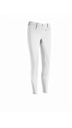 Pikeur Reithose Lucinda Girl Slim Grip, 146 | Weiß
