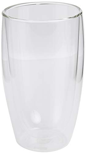 Bodum Pavina Glass, Double-Wall Insulate Glass, Clear, 15 Ounces Each (Set of 2)