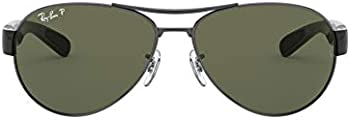Ray-Ban Men's RB3509 Oval Sunglasses
