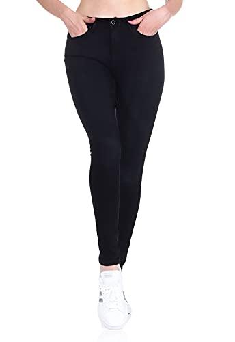 ONLY Damen Stretch-Jeans Hose ONLPaola Life mit...