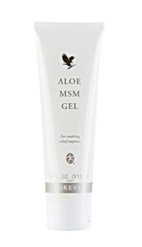 Forever Living Aloe MSM Gel Hautpflege, beruhigt Gelenke und Muskeln, 118 ml
