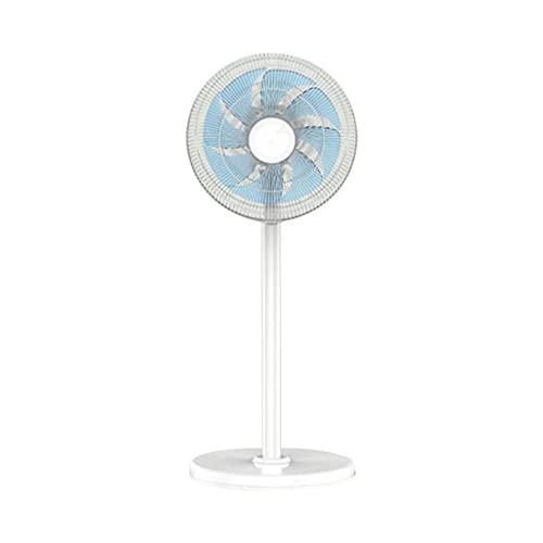 Ventilador vertical LS, viento suave de ocho hojas, viento fuerte de tres velocidades, suministro de aire de gran angular, ventilador de sincronización mecánico con cabezal vibratorio silencioso par
