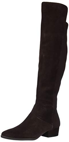 Aerosoles Women's Cross Country Over The Knee Boot, Brown Suede, 5.5 M US