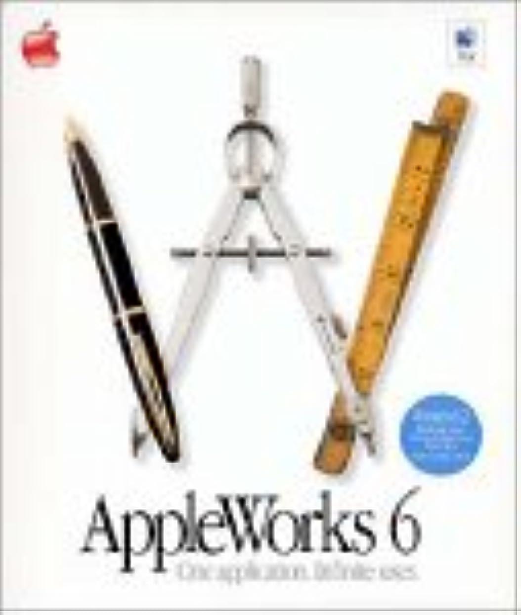 誇張メータードラッグAppleWorks 6.2.4 英語版