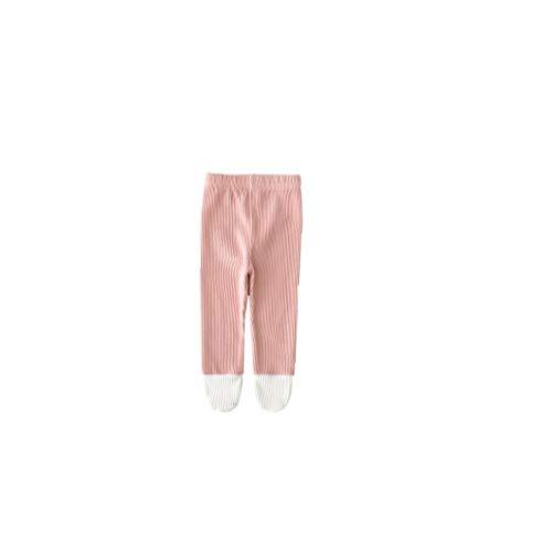 ZYCX123 Kleinkind weiche Strumpfhosen Baby-Gamaschen Baumwolle Leichtfüßig Stocking Winter Stricken warme Hosen für Neugeborene Kleinkinder 80cm Rosa Baby-Zubehör