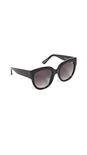 Quay Women's Limelight Sunglasses, Black/Smoke Lens, One Size