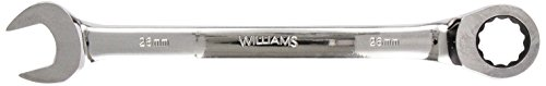 Williams 1226MNRC Combination Ratcheting Wrench, 26mm 26mm 12 Point Combination Wrench