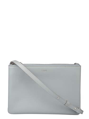 Luxury Fashion | Céline Dames 192033CAD07ME Blauw Leer Schoudertassen | Lente-zomer 20