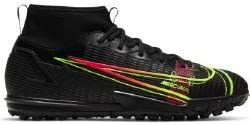 Nike Boy's Trail Running Shoe, Black Cyber Off Noir Rage Gree, 6 us
