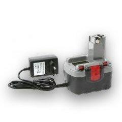 Heib Qualitätsakku - Akku für Bosch Typ 2607335533 inkl. Ladegerät - 1400mAh - 14,4V - Li-Ion