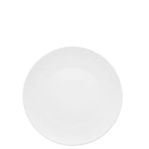 Rosenthal 11280-800001-10222 - TAC Gropius - Frühstücksteller/Kuchenteller/Dessertteller - Weiss - Ø 22 cm - Porzellan