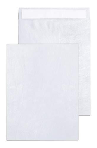 Tyvek Envelopes – 10x13 Mailer Tear Resistant Envelopes Tyvek Construction & Easy Self Seal Closure –Bright White – Bulk Pack of 15 – 10 x 13 Inch