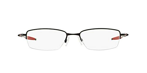 Oakley 3129, Monturas de Gafas para Hombre, Negro (Polished Black), 53