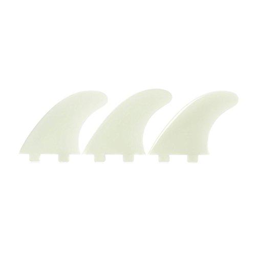 Eurofin E5 surfboard fins, FCS compatible - Bone
