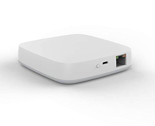 Smart Home Cetner des Zickbee Gateways Hub, Arbeit in Tuya smart APPs, Es ist ein Tor von Tuya Zickbee Wandschalter, Zickbee Tür/ PIR/ Temp Sensor, ermöglichen bei alexa Geschicklichkeit