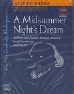 A Midsummer Night's Dream Audio Cassette Set (2 Cassettes)