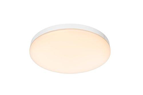 Decoratieve LED plafondlamp metaal wit glas opaal 24W Globo VOLARE 41805