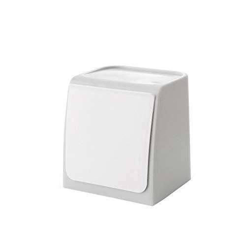 SQUAREDO Mini-Mülleimer für Wand-Mülleimer in der Küche geeignet für Badezimmer, Küche, Büro, Schranktür und so weiter