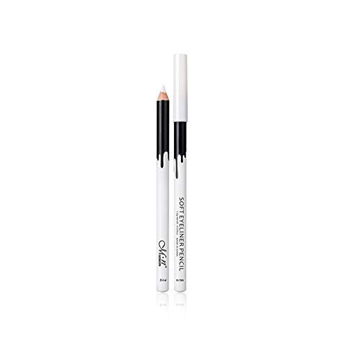 12 pièces/set eyeliner naturel mat Crayon Long Lasting Hypoallergénique Sous Liners Maquillage des yeux doux Crayons crayon blanc