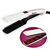 Best Prices! LMEIL Steam Ion Ceramic Hair Straightener,Professional Salon Wet Hair Iron Straightenin...