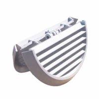 Ventilatie rooster PL 186 rond lattenbodem 125/160 voeten
