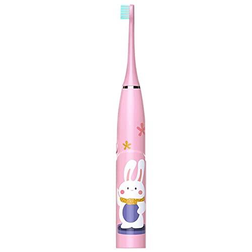 #N/D Cepillo de limpieza de dientes para niños Sonic 6 grados Cepillos de dientes eléctricos Smart Timer Cepillo de dientes IPX7 impermeable cepillo de limpieza de dientes