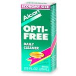 Opti-Free Daily Cleaner for Contact Lenses,  2/3-Ounce Containers (Pack of 2)