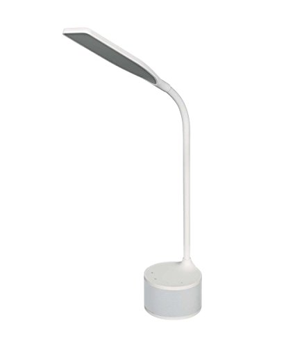 Osram LED Panan Speaker Schreibtisch-Leuchte, für innenanwendungen, Warmweiß, dimmbar per Touch-Schalter, integrierte Lautsprecher mit AUX-Eingang