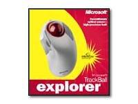 Microsoft Trackball Explorer - Trackball - optical - 5 button(s) - wired - PS/2, USB - retail