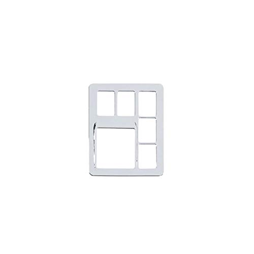 CksEKD Cubierta de Ajuste de Interruptor de luz antiniebla ABS Accesorios Interiores de Estilo de Coche, para Toyota Land Cruiser 150 Prado LC150 FJ150 2010-2017