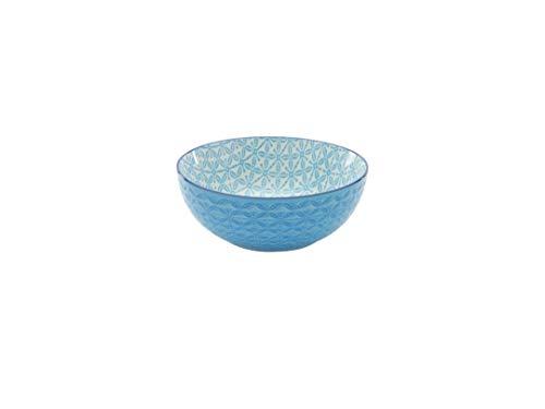 Neu Müslischale Dessertschale Salatschüssel Mediterran | Steinzeug |Blau | Ø 15 cm …