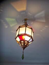 Lámpara de techo marroquí lámpara de techo farol marroquí aplique L39
