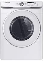 SAMSUNG 7.5 Cu. Ft. White Gas Dryer