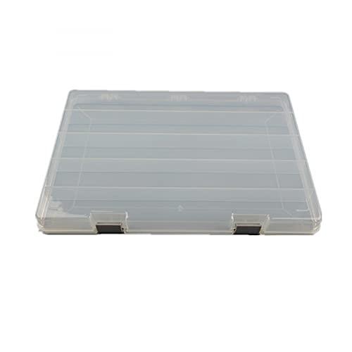 MUY celosía de Tira Larga Caja de plástico Transparente Alta Caja de...