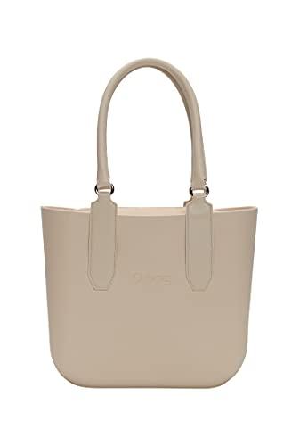 O bag, Borsa Donna, Sabbia, Unica