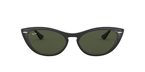 Ray-Ban 0RB4314N Occhiali da Sole, Nero (Black), 54 Donna