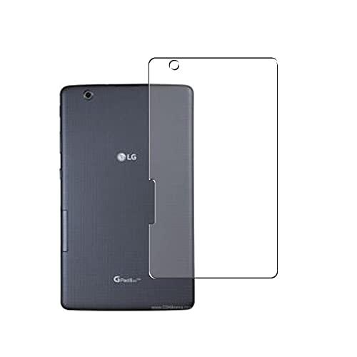 Vaxson 2 Stück Rückseite Schutzfolie, kompatibel mit LG G Pad IV 8.0 FHD/V533 GPad X2 8.0 Plus V530 G Pad F2 8.0, Backcover Skin TPU Folie [nicht Panzerglas/nicht Front Bildschirmschutzfolie]