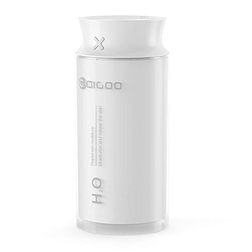 AOWU Leiser Luftbefeuchter, USB, elektrisch, 400 ml, Ultraschall, Luftbefeuchter, Wohnzimmer