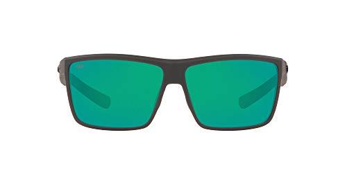 Costa Del Mar Men's Rinconcito Polarized Rectangular Sunglasses, Matte...