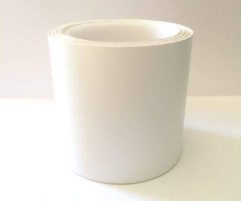 Tiras adhesivas para puertas de cristal, señalización de puerta de cristal, material PVC, se pueden utilizar en interiores, listas para colocar, resistentes y duraderas en el tiempo (blanco)