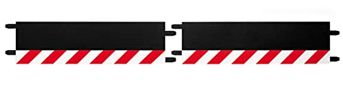 Carrera - 20597 - Accessoires pour circuit - Carrera ExclusiV/Carrera EvolutioN - Bordures pour traversee (2 convexe + 2 concave) - echelle 1:24